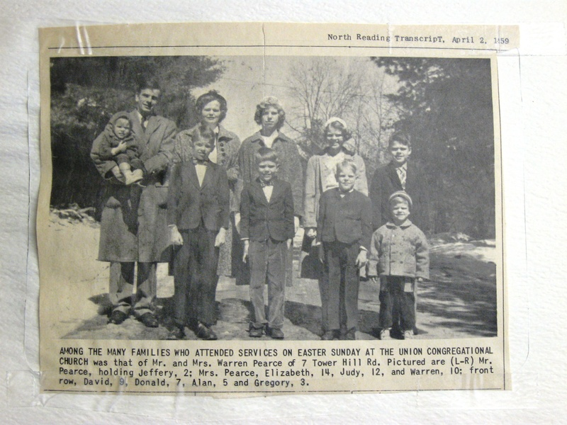 Old family photo from local paper