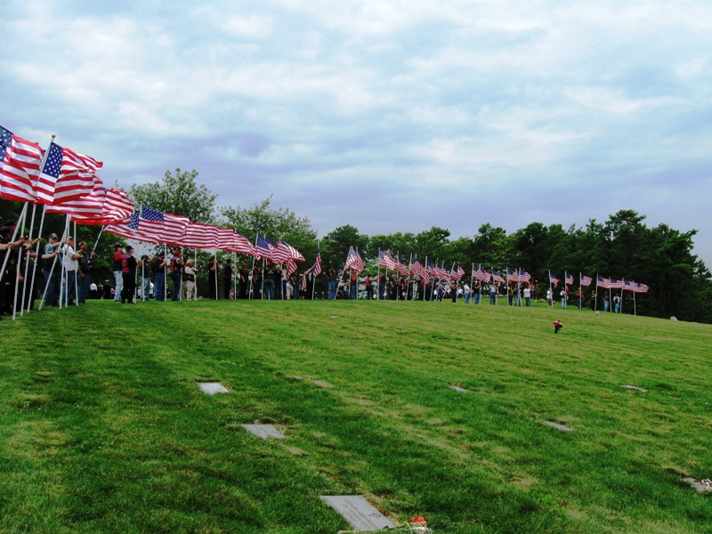 PGR Mission National Cemetery, Bourne, MA